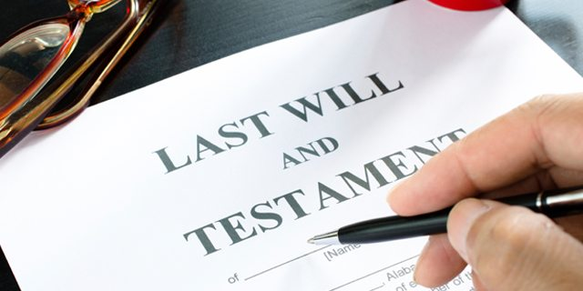 Unsigned Wills